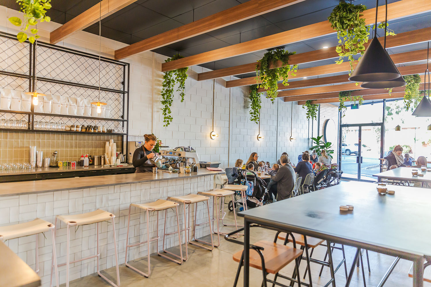 Fine & Fettle Cafe Fit-out